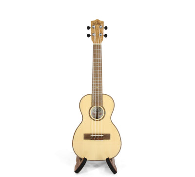 Leho Solid Spruce / Flame Maple Thin-Body Concert