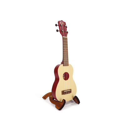 MyLeho Solid Spruce Top Soprano (Red Wine)