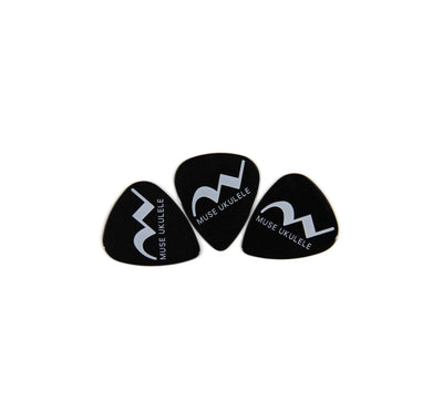 Muse Plastic Picks Pack of 3