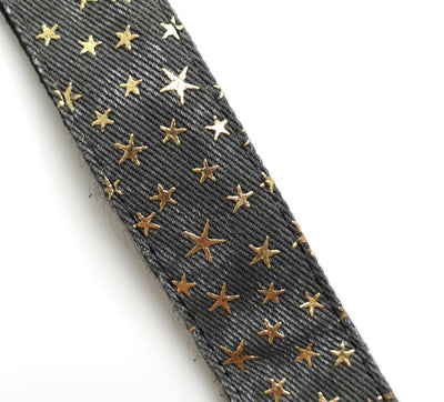 Ukulele Strap STRAP/SD31 (Grey Denim Star)