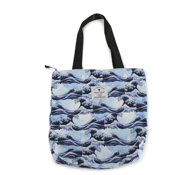 Hawaiian Tote Bag - The Wave 07