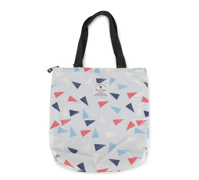 Hawaiian Tote Bag - Triangles 09