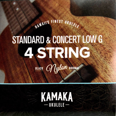 Kamaka Sop/Con Low G Strings Set