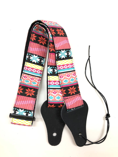 Ukulele Strap STRAP/SD10 Mix Prints