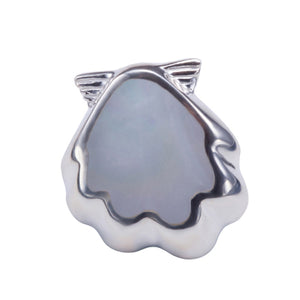 Sterling Silver Sunrise Shell Pendant Mother-of-pearl Inlay(Chain Sold Separately) - Hanalei Jeweler