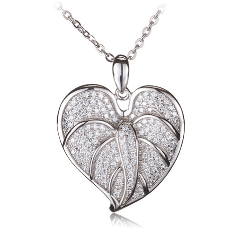 anthurium leaf pendant