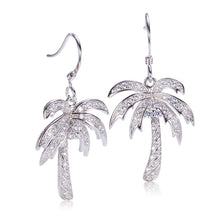 palm tree earring
