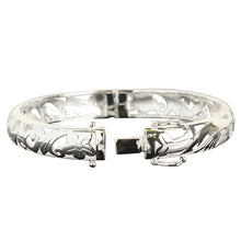 Hawaiian Jewelry Tropical Oval Open Bangle - Hanalei Jeweler