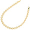 14k Yellow Gold Plumeria Linked Bracelet - Hanalei Jeweler