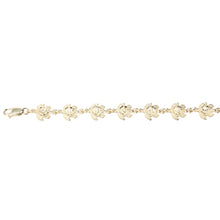 14K Yellow Gold Turtle Bracelet Diamond Cut Finished - Hanalei Jeweler