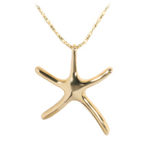 Yellow Gold Starfish Pendant(L)