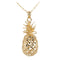 Yellow Gold Pineapple Pendant(S,M, L) - Hanalei Jeweler