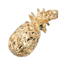 Yellow Gold Pineapple Pendant(S,M, L)