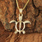 Yellow Gold Honu(Hawaiian Turtle) Medium size Pendant - Hanalei Jeweler