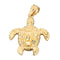 Yellow Gold Turtle Pendant(S, M) - Hanalei Jeweler