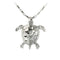 14K White Gold Turtle Pendant - Hanalei Jeweler