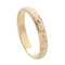 Hawaiian Jewelry 14K Yellow Gold 3mm King Scrolling Ring - Hanalei Jeweler