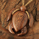 Koa Wood Turtle Necklace