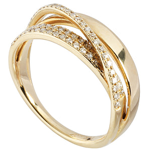 0.32 ct. t.w.  Diamond Ring in Solid 14K Yellow Gold - Hanalei Jeweler