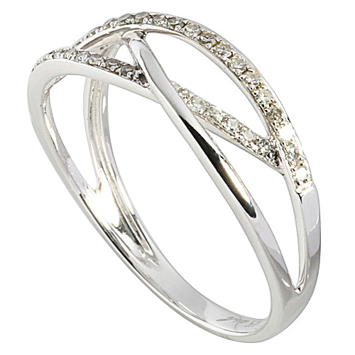 0.17 ct. t.w.  Diamond Ring in Solid 14K White Gold - Hanalei Jeweler