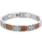 Koa Wood Inlay Bracelet - Hanalei Jeweler