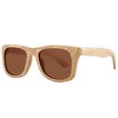 Maple Wood Sunglasses Rectangle Frame with nose - Hanalei Jeweler