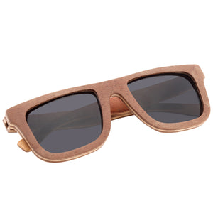 Classic Style Skateboard Wood Sunglasses Two Tone - Hanalei Jeweler