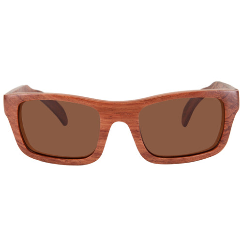 Rosewood Sunglasses Rectangle Dome Frame - Hanalei Jeweler