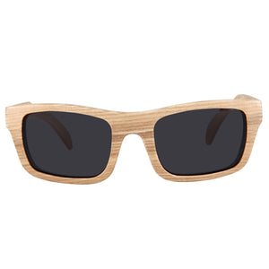 Maple Wood Sunglasses Rectangle Dome Frame - Hanalei Jeweler