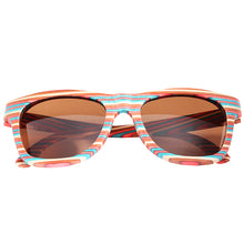 Skateboard Wood Rainbow Color Sunglasses - Hanalei Jeweler