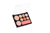 High gloss eye shadow blush multi-purpose disk