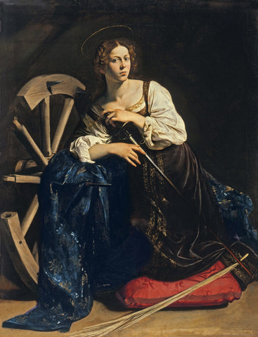 Image of 5D Diamond Painting Saint Catherine of Alexandria