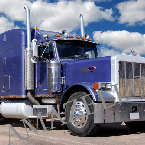 5D Diamond Painting Blue Truck