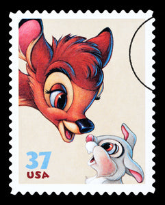 5D Diamond Painting Bambi Stamp