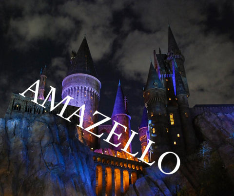 Image of 5D Diamond Painting Harry Potter Hogwarts Castle at Night