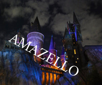5D Diamond Painting Harry Potter Hogwarts Castle at Night