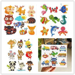 5D Diamond Painting Stickers