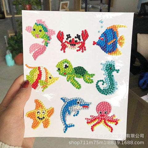 Image of 5D Diamond Painting Stickers