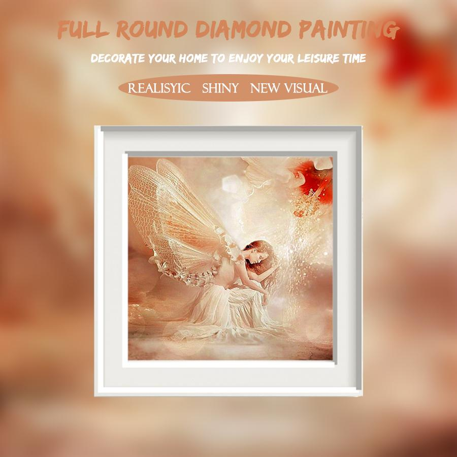 5D Diamond Painting Flower Fairy