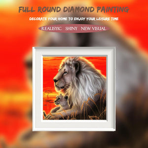 5D Diamond Painting The Lion King and the Prince