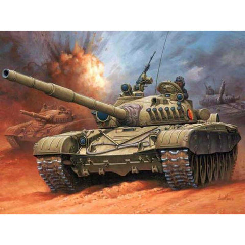 Image of 5D Diamond Painting Tank War