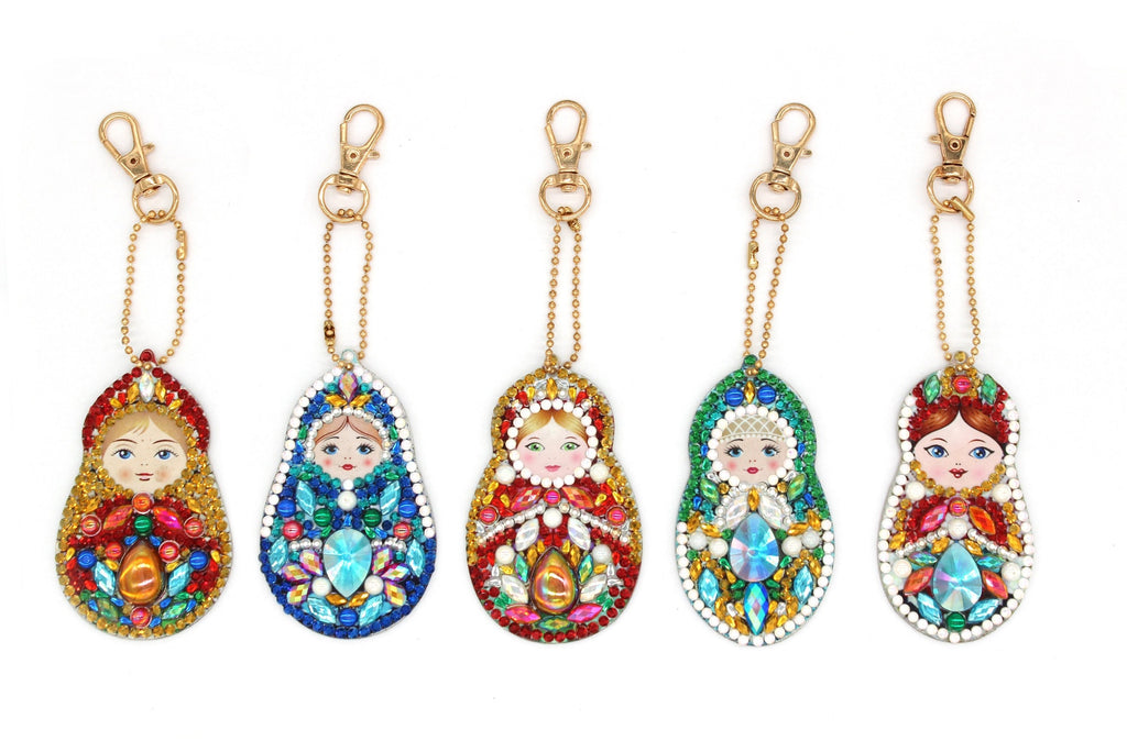 5D Diamond Painting Russian Doll