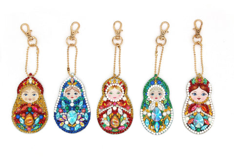 Image of 5D Diamond Painting Russian Doll