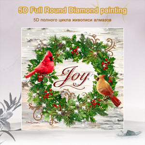 5D Diamond Painting Christmas Reef