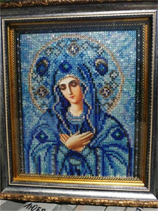 5D Diamond Partial Drill Sparkling - Mini Collection - Virgin Mary