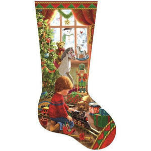 5D Diamond Painting Stocking