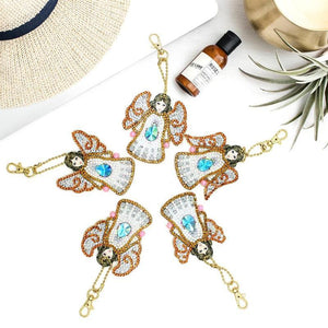 5D Diamond Painting Special Shaped Angel (5pcs)