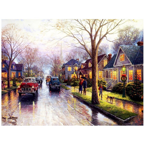 5D Diamond Painting City Landscape