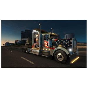 5D Diamond Painting American Trucker