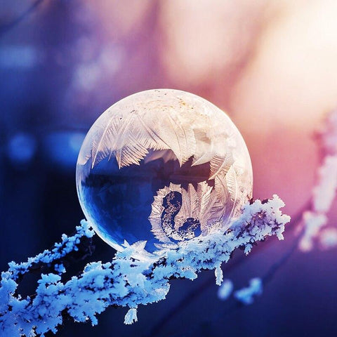 Image of 5D Diamond Painting Ice Crystal Ball